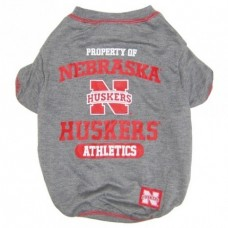 Nebraska Huskers Dog Tee Shirt