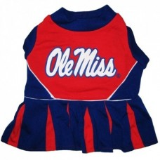 Mississippi Rebels Cheerleader Dog Dress