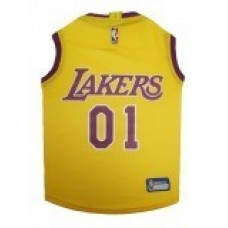 Los Angeles Lakers Dog Jersey