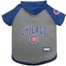 Chicago Cubs Dog Hoody Tee Shirt