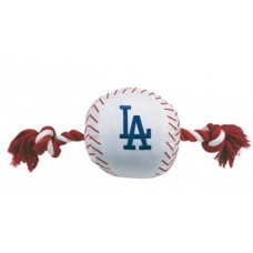 Los Angeles Dodgers Baseball Toy - Nylon w/rope