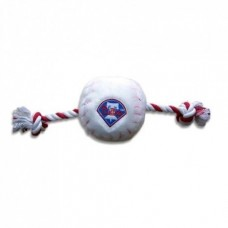 Philadelphia Phillies Baseball Toy - Nylon w/rope