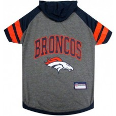 Denver Broncos Hoody Dog Tee Shirt