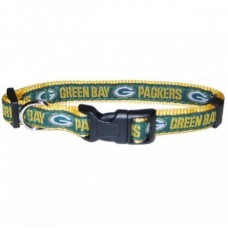 Green Bay Packers Dog Collar - Ribbon