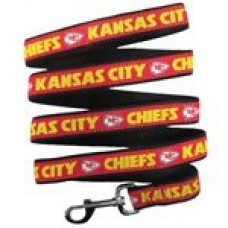 Kansas City Chiefs Dog Leash - Ribbon