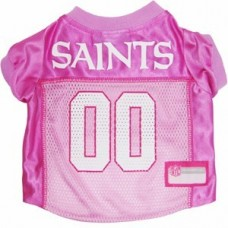 New Orleans Saints Dog Jersey - Pink