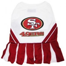 c2f62d039 San Francisco 49ers Cheerleader Dog Dress